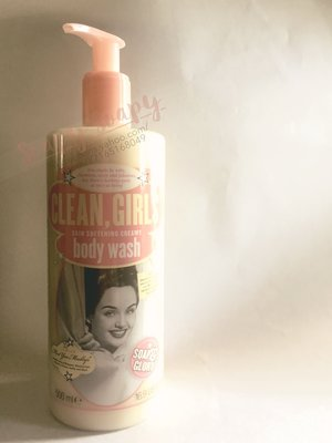 "Soap & Glory 沐浴露  ""Clean, Girls"" Body Wash [平郵免運費]"