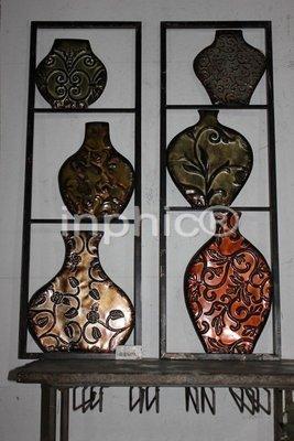 INPHIC-經典懷舊鐵藝壁掛 壁飾牆掛2件套