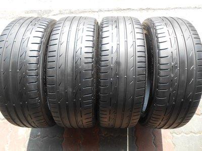 ◎至品中古胎◎優質中古跑胎~205/45/17 普利司通 S001 高性能跑胎 ~含安裝.平衡