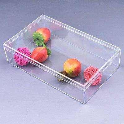 小滿~全透明ps天地蓋塑料盒180x110x45加高首飾珠寶展示燕窩人參包裝盒#規格不同 價格不同#