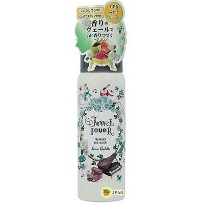 【JPGO日本購】日本製 Jewel Jouer 秀髮香氛呵護古龍水.髮妝水 80g#938