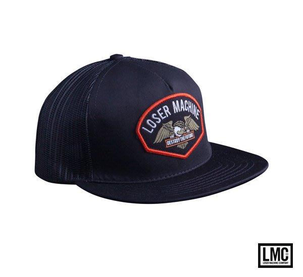 GOODFORIT / 美國品牌Loser Machine Softail Hat猛禽復古電繡貼布帽款