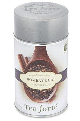 (預購)美國 TEA FORTE Bombay chai loose leaf black tea 120g