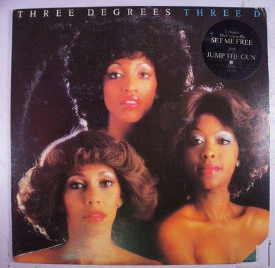 《二手美版黑膠》Three Degrees - Three D