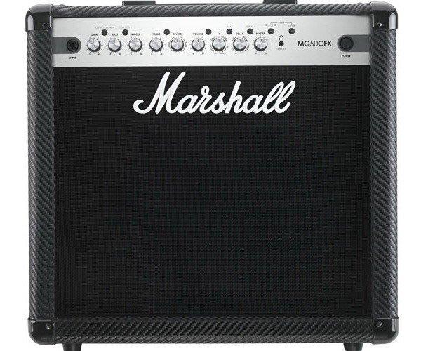 ☆ 唐尼樂器︵☆ Marshall MG50CFX 50瓦電吉他音箱(內建破音及多種效果器,適合練團及中型表演)