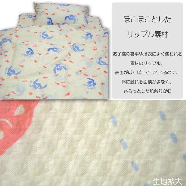 ~FUJIJO~現貨~特惠價~日本限定【Stitch史迪奇】日本製 單人2件式床包組 單人床包+枕套各一