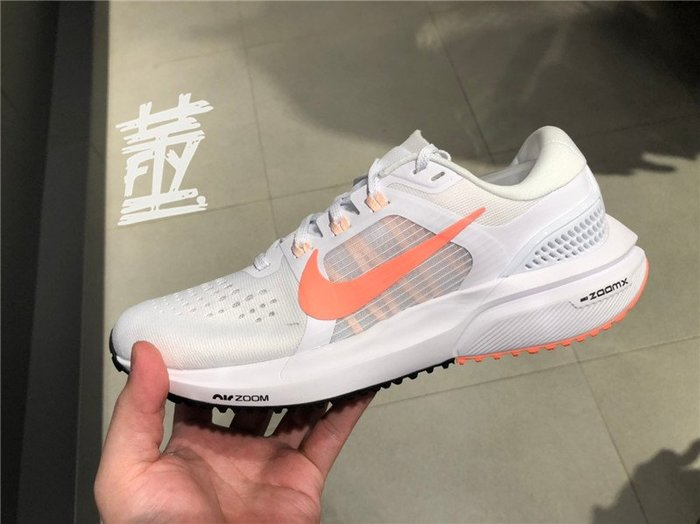 [飛董] Nike Air Zoom Vomero 15 慢跑鞋 女鞋 CU1856 102 白 粉橘