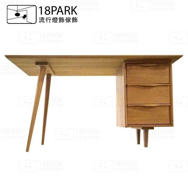 【18Park 】北歐簡約 Aoki [ 青木彩白橡書桌 ]