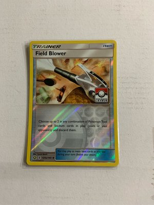 [美]寶可夢 神奇寶貝 Field Blower 閃 英文版 收藏