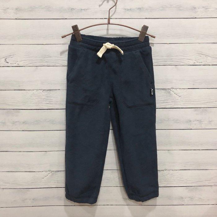 Maple麋鹿小舖 美國購買童裝品牌 GYMBOREE 男童深藍色絨長褲 * ( 現貨3T )