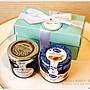 Double Love Tiffany盒「果醬+蜂蜜」二入禮盒.甜蜜佈置.結婚婚禮小物.工商.禮贈品.來店禮.幸福朵朵