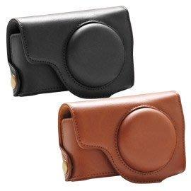 Canon S100 S110 兩款共用 復古兩段式可拆皮套(黑色)-加送記憶卡保存盒