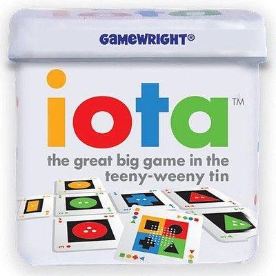 大安殿桌遊 附中文規則 iota 迷你型色牌 圖像牌 微米形量色 口袋鐵盒版 正版益智桌上遊戲