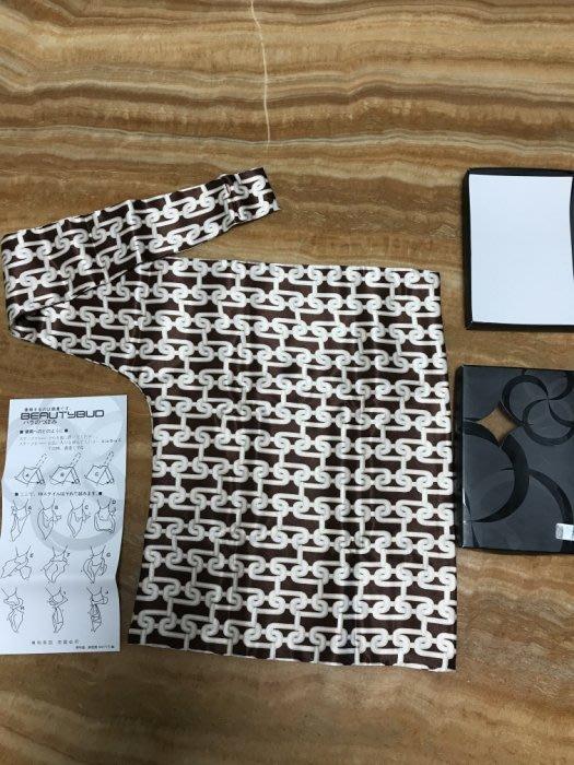 全新 日本Beautybud 專利超人氣魔術L型領巾/絲巾