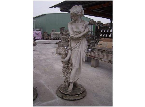 ~~((⊙_⊙))出清庫存~~歐洲宮廷藝術 園藝造景185cm 雕像 室內外皆可@$30,000 初胚未塗裝處理