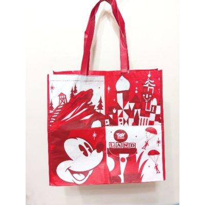 【現貨】迪士尼限定超大購物袋(紅米奇)