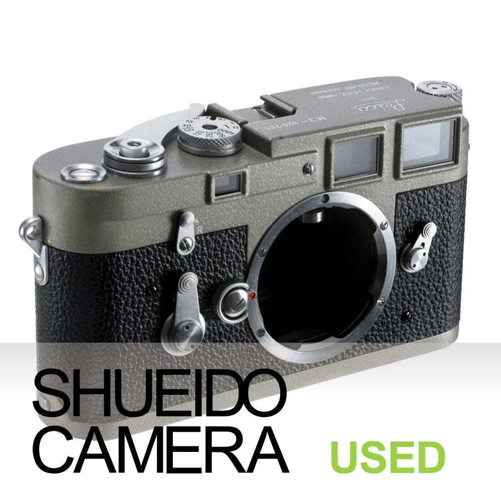 集英堂写真機【3個月保固】美品 LEICA M3 徠卡 單撥旁軸底片相機 後塗 錘紋漆 平光淺灰 / 露銅 20613