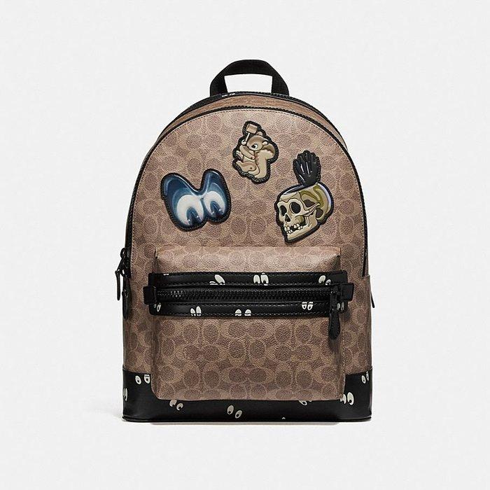 Coco小舖COACH 32665 Disney X Coach Academy Backpack 後背包