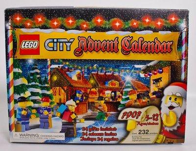盒裝未拆 LEGO 城市 樂高 人偶 City Advent Calendar 7907 聖誕節