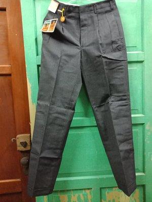 早期 行東帝士牌帝特龍西褲含盒~平量約莫尺寸:腰寬34~臀寬48~長104公分