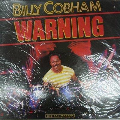 合友唱片 BILLY COBHAM - WARNING (1985) 黑膠唱片 LP 面交 自取
