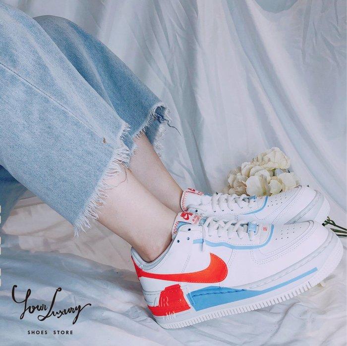 【Luxury】NIKE W AF1 Shadow SE Air Force 1 男女鞋 情侶鞋 韓國代購 正品代購