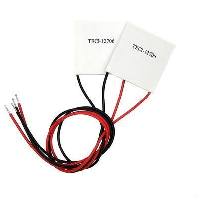 TEC1-12706 半導體製冷片40*40迷你熱電致冷珀耳帖板模組飲水機 製冷片CPU 電子冰箱專用