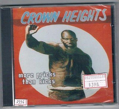 [鑫隆音樂]Crown Heights - More Pricks Than Kick [743214383124]全新