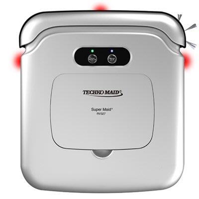 Techko Maid 聰明管家 RV327 智慧型 掃地機器人 (強力清潔版) 取代RV668