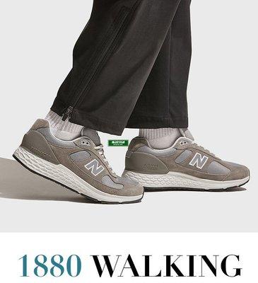 南◇2021 2月 New Balance 1880 2E 男鞋 健走 緩震 麂皮 輕量 灰色 元祖灰 MW1880C1