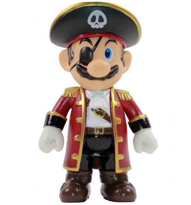 超級瑪利歐紀念模型 2020新款超級瑪利兄弟小號公仔模型 超級瑪利歐遊戲周邊5吋關節可動搪膠模型公仔玩具禮物