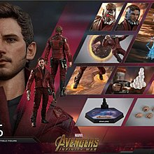 Hottoys Avengers Infinity Wars Star lord 星爵訂單26/6
