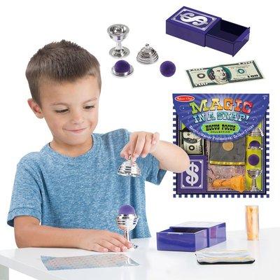 【晴晴百寶盒】美國進口錢幣魔術 Melissa&Doug扮演角系列手眼協調生日禮物家家酒 益智遊戲玩具W665