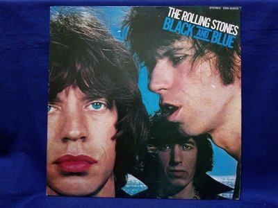 黑膠小丸子~THE ROLLING STONES.BLACK AND BLUE/HOT STUFF