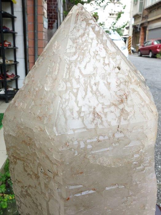 ~shalin-crystal~巴西鱷魚骨幹水晶~20.09公斤~完整度高~除穢聚氣~化煞聚財~低價起標!