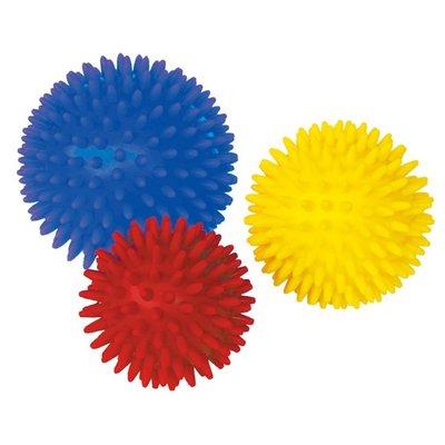 【晴晴百寶盒】台灣品牌小觸覺球(直徑=10.8.7CM)/環保WISDOM教具益智遊戲 環保無毒玩具 檢驗合格W912