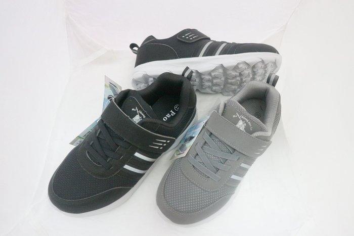 新上市~~Pao Lo-7767輕量款跑布鞋/運動鞋--魔術貼款.穿脫更方便~39~44號