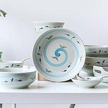 奇奇店-若水金魚 日式陶瓷餐具盤子家用菜盤米飯碗湯碗面碗調味碟#簡約 #輕奢 #格調