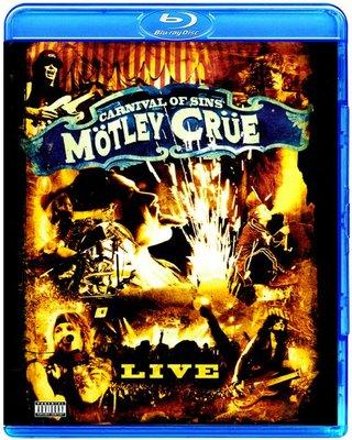 高清藍光碟 Motley Crue Carnival of Sins (藍光BD50)