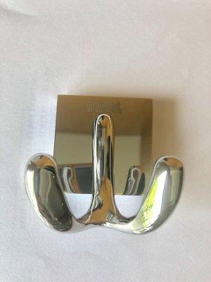 100%全新【GREAT】luxury 高貴 豪華 重身 銅料 銀色 毛布掛鉤(原價$290)Ikea citysuper sony