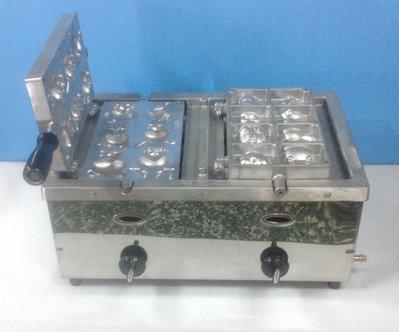 【東園餐飲設備】瓦斯電子式雞蛋糕爐 整組(含模具) {送5尺瓦斯管}