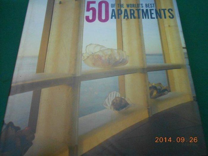 『精裝本』~《50 of the World''s best Apartments》八成新 ISBN:1