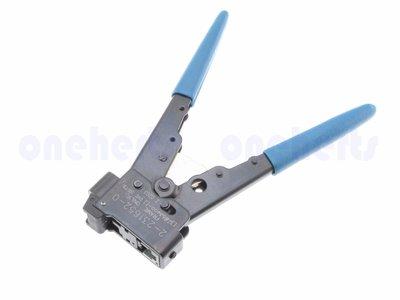 專用8P RJ45 網路壓線工具 cat5e 壓線鉗 網路夾 網線水晶夾線鉗 適用 AMP 水晶頭 Tyco Elect