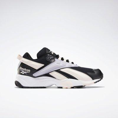 Reebok Classic 全新 INTERVAL 96 黑色 粉紫橘流線撞色 運動鞋 休閒鞋 復古鞋 FV7474