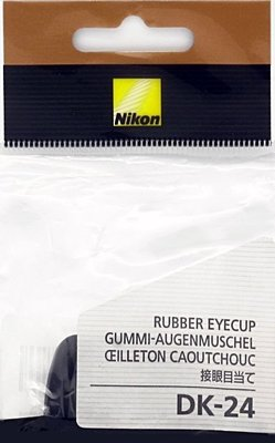 我愛買#正品NIKON 相機眼罩DK~24眼罩DK~24眼杯D5000眼罩D5000眼杯D