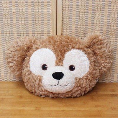 促銷價!!現貨!! 日本東京迪士尼Duffy 達菲熊ShellieMay雪莉玫大頭臉造型靠枕/抱枕