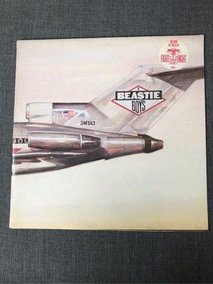 Beastie Boys – Licensed To Ill 黑膠 1986年 英版