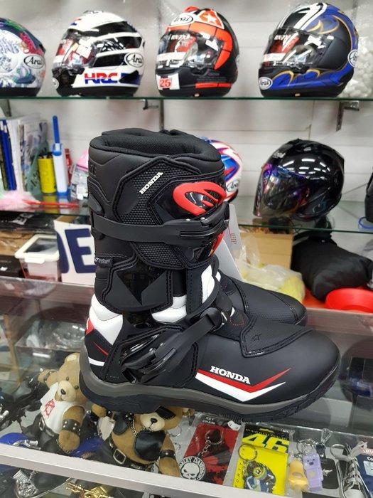 ALPINESTARS   HONDA 聯名款,限量版頂級滑胎靴,特價優惠中