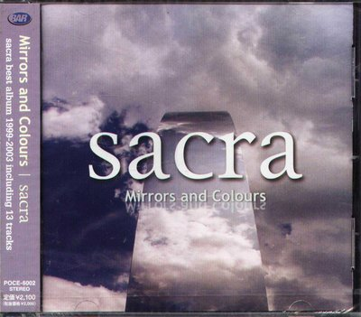 K - sacra - Mirrors and Colours - 日版 - NEW