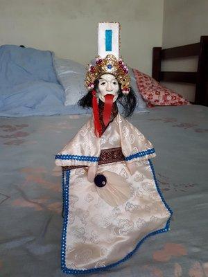 傳統布袋戲偶 賽王棺之勾魂使者